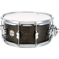 "DW PDP Black Wax Over Maple pergődob,  14""x 6,5"""