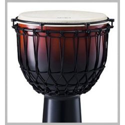 """Pearl PJF-350RX  EZ Tune Rope Djembe 14"""" Cranberry Fade"""