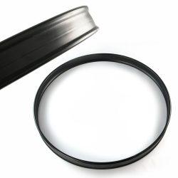 """Dixon 18"""" fekete, fém nagydobkáva PKZ118BK"""