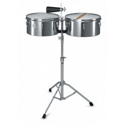 """Pearl PTS-5134 Primero Steel Timbales 13""""/14"""" + Stand"""