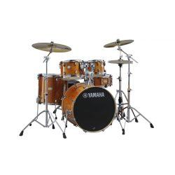 """Yamaha Stage Custom Birch SBP0F5HA-HW780 Dobszerelés (20-10-12-14-14S"""") HW780W állványokkal Honey Amber"""