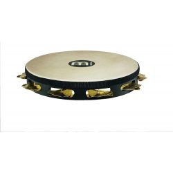Meinl headed wood tambourine STAH1B-BK