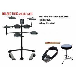 Roland TD-1K Akciós szett RAKTÁRON