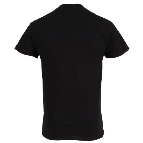 Tama T-Shirt fekete színben  Warlord logóval TT207-