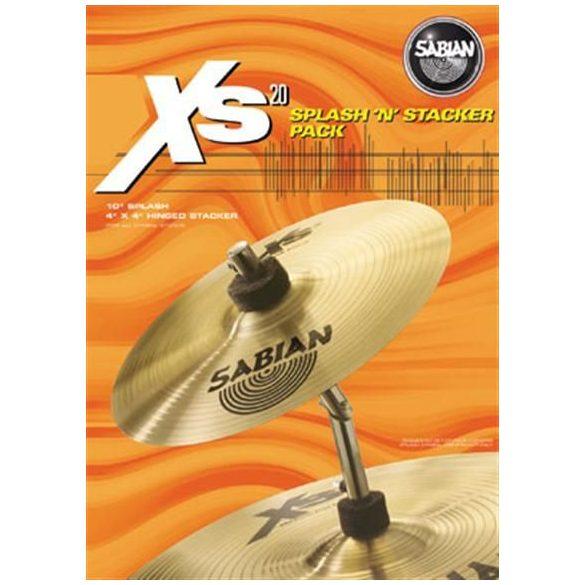 "Sabian 10"" Splash & 10"" Stacker Pack"