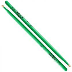 Zildjian Hickory Acorn Neon Green 5A dobverő Z5AACDGG