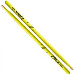 Zildjian Hickory Acorn Neon Yellow 5A dobverő Z5AACDGY
